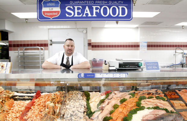 Go fish hy vee stores offer fresh seafood right off the boat for Go fish store