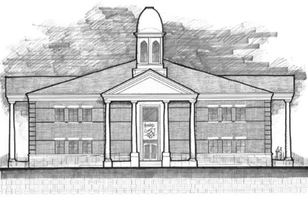 Courthouse Drawings  Fine Art America
