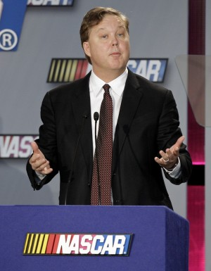 Sports Auto Racing Nascar Jobs on The Upcomingseason During An Auto Racing News Conference At The Nascar