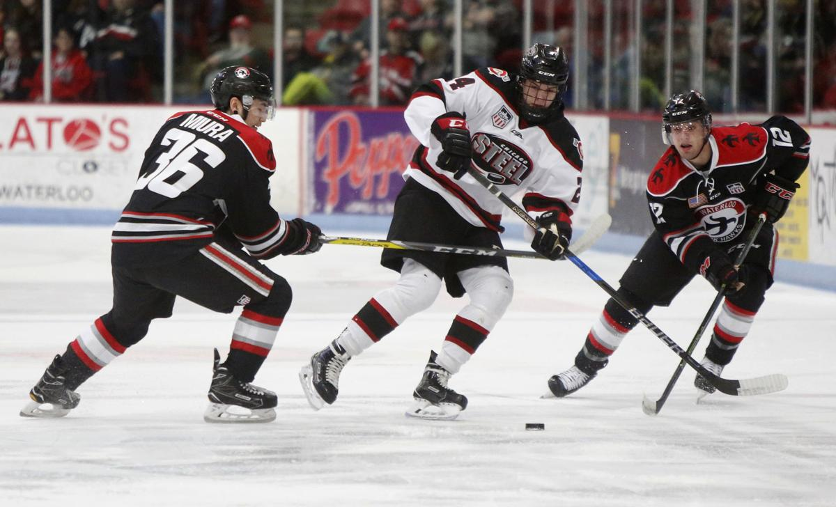 USHL: Swaney's Goal, Beydoun Shutout Lift Black Hawks Past Chicago, 1-0