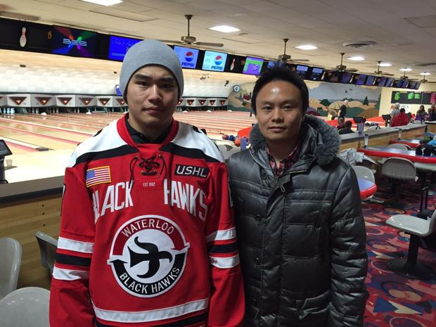 Heart of a lion: Japanese-born Terao fitting in with Black Hawks
