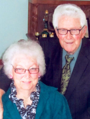 Happy 70th Anniversary, George and Mabel Viet!