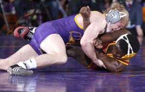 Photos: UNI-Iowa State wrestling