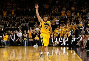 Marble leads Iowa to NIT win over Stony Brook