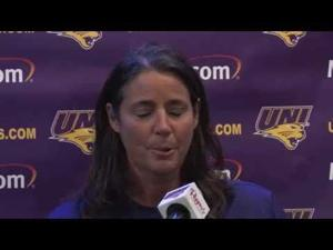 UNI Volleyball Hits Road to Defend Perfect 2014 MVC Record