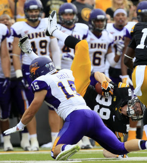Photos: UNI v Iowa football
