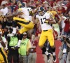 Iowa receivers running deep