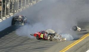 Auto Racing Glen Sullivan on Despite Wreck  George Still Head Over Heels About Racing