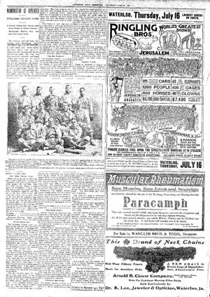 Collection: Waterloo's baseball history in newspapers