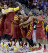 Cyclones storm past Kansas to grab Big 12 title, 70-66