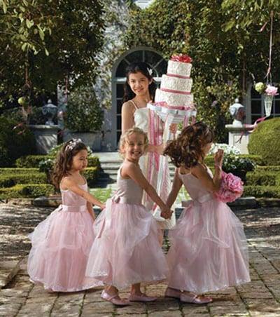 flower girls junior bridesmaids have doable tasks at