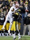 Iowa football: King the man in the right place at right times