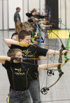 On target: Local youth embrace competitive archery