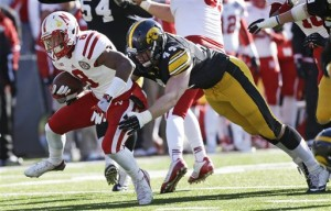 Photos: Last year's Iowa-Nebraska game