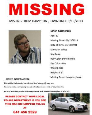 Reward offered in case of missing Hampton man