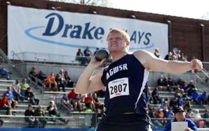 Drake Relays: AGWSR's Meinders wins shot put title
