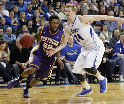 UPDATE: UNI takes care of Drake, 71-64 | Men's Basketball ...