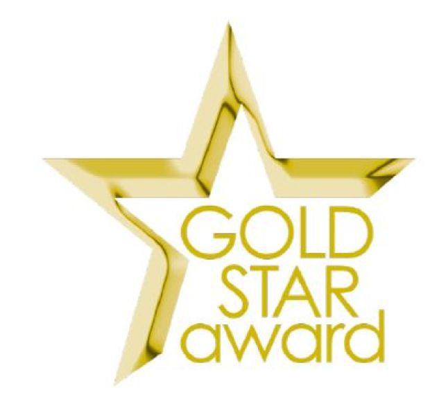 Gold Star Teachers award logo