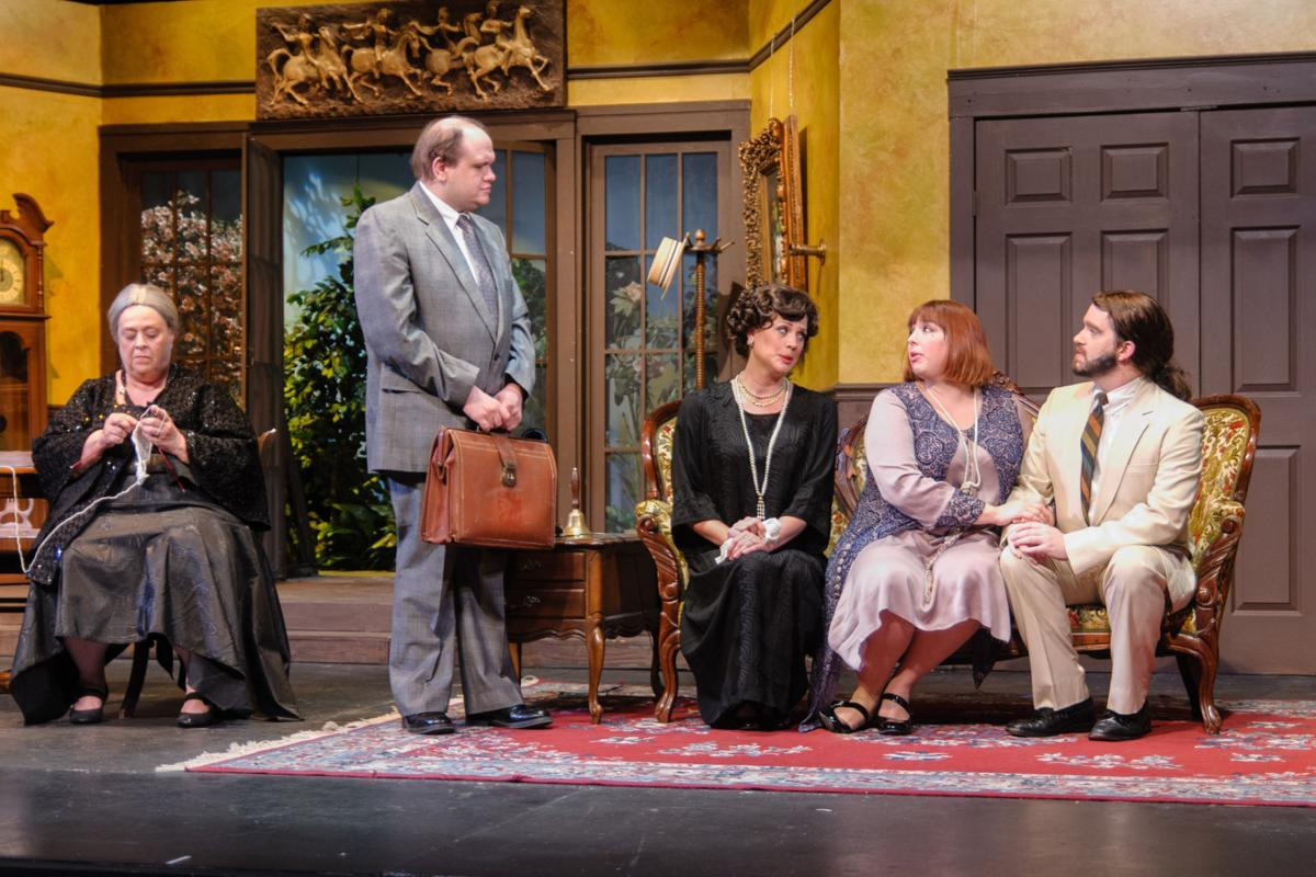 Review wcp 39 s lightweight farce has believable for Farcical scenes