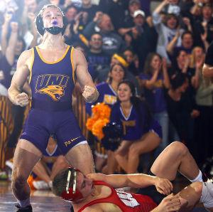 Photos: UNI-Wisconsin wrestling