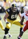 Scherff can't avoid NFL draft spotlight