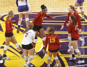 Photos: UNI volleyball vs. Iowa State