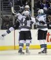 Former Waterloo Black Hawk Joe Pavelski scores again for Sharks in NHL playoffs