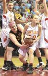 Girls' state basketball: Carlisle eliminates Waverly-S.R., 56-50