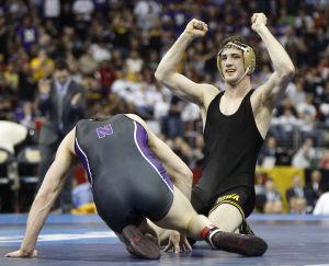 Hawkeyes' St. John wins national title