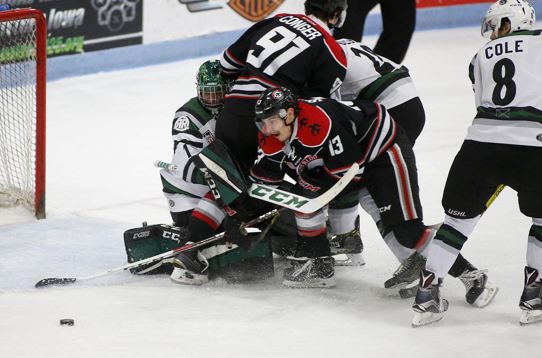 USHL: Ohrvall Goal, Beydoun Shutout Lift Black Hawks