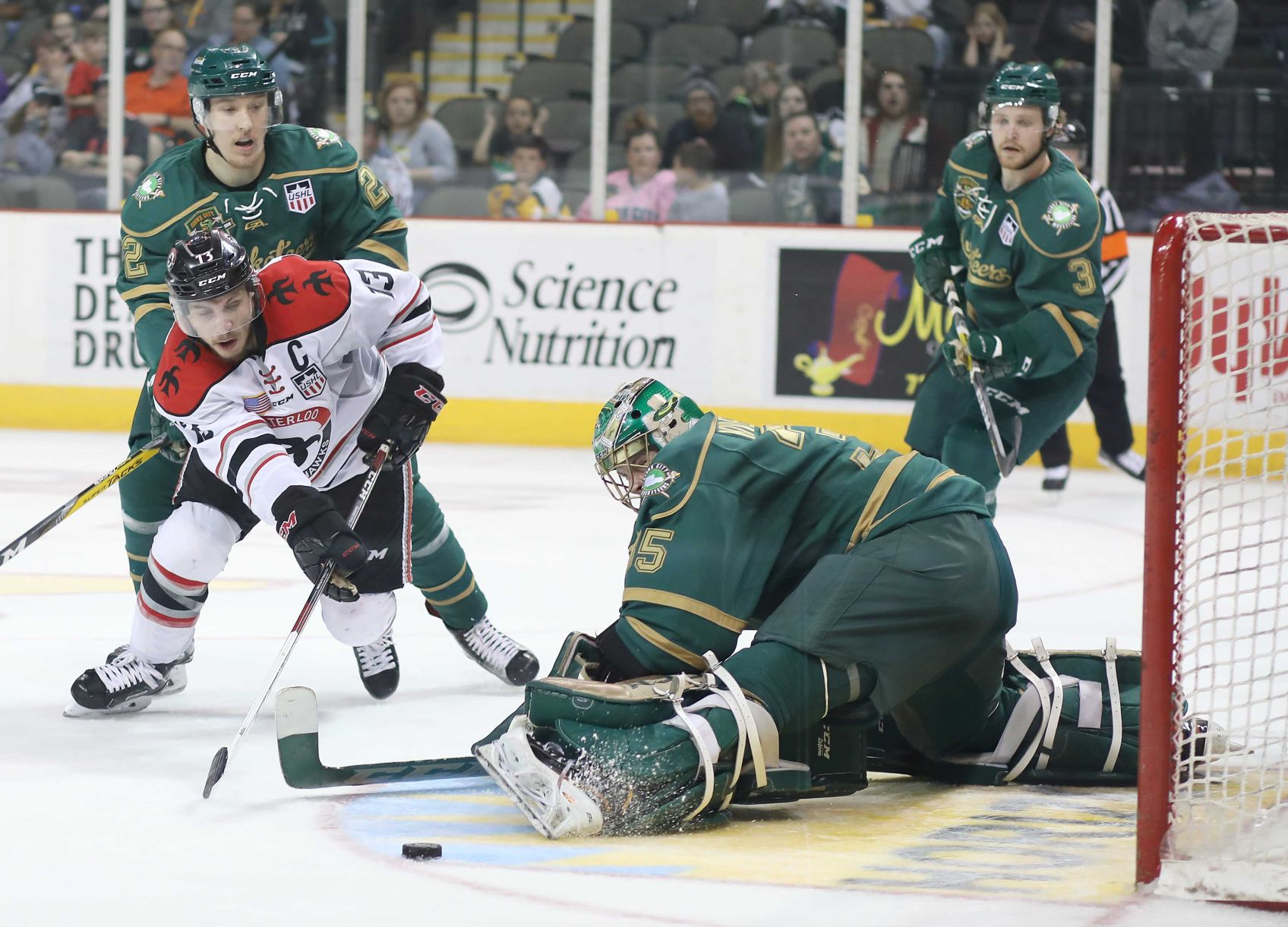 USHL: Black Hawks Fall In Western Conference Finals, 8-3
