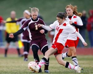 Photos:  Denver vs Union girls soccer  April 18, 2011