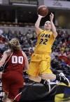 Iowa women fall to Nebraska at Big Ten tournament