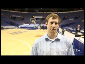 The Courier's Carson Tigges talks UNI/Loyola matchup MVC Tournament