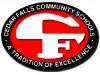 clip art Cedar Falls logo for academics