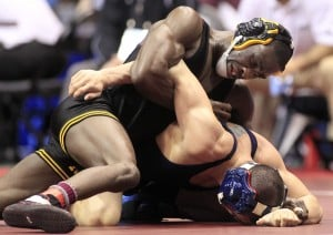 NCAA wrestling:  Brands wants more from Hawkeyes