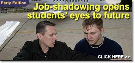 Job shadowing experiences open doors for high school students ...