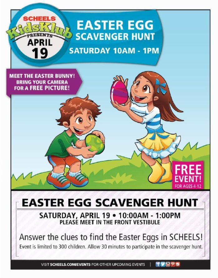 Event Easter Egg Scavenger Hunt Pulse Entertainment