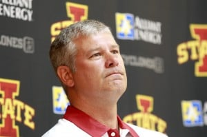 Photos: ISU Football Media Day Thursday, Aug. 2, 2012