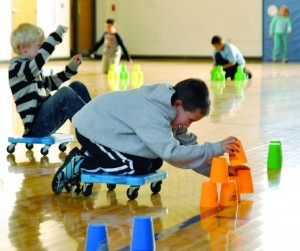 Cup stacking for sport