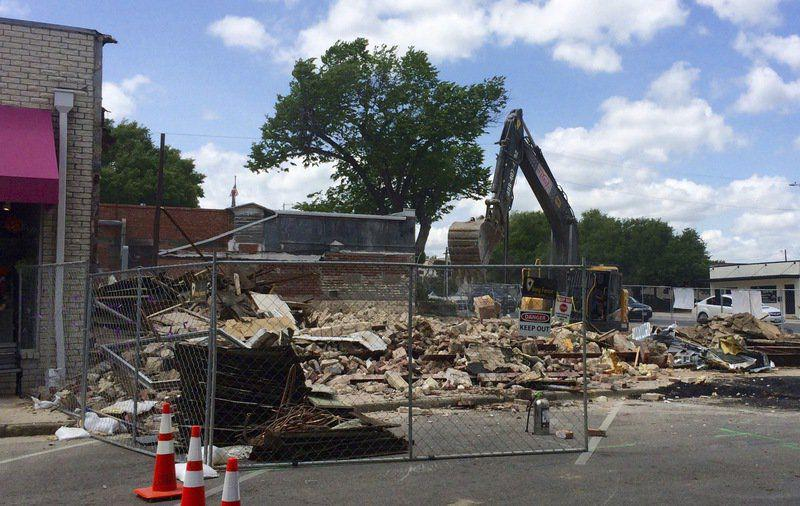 Hartness Print Shop On Square Demolished Local News