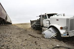 Another train accident east of Williston