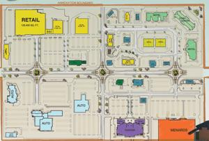 A look at the new shopping center