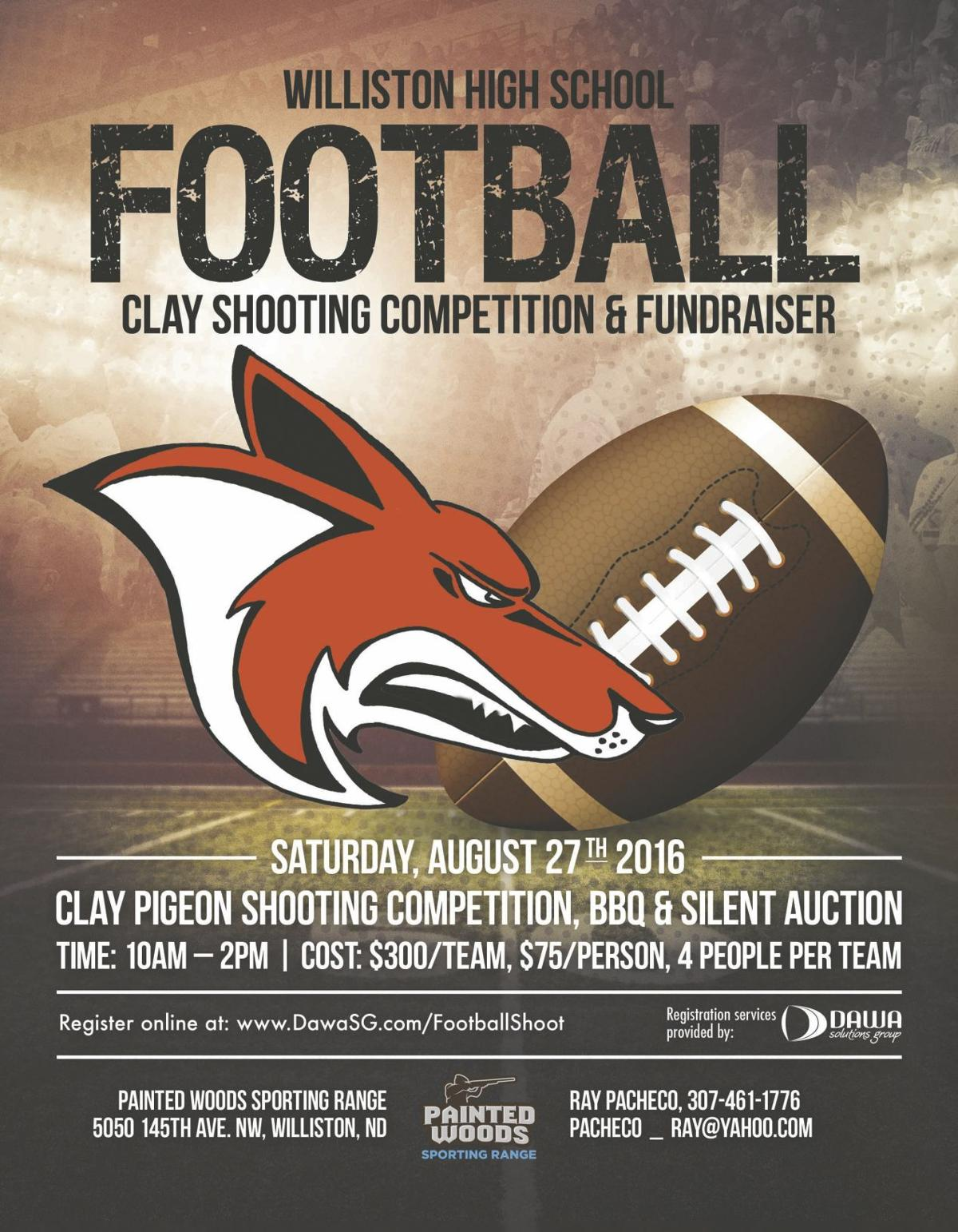 coyote football parents set sights on fundraising goals