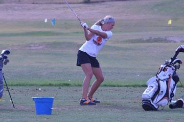 Williston High School golf