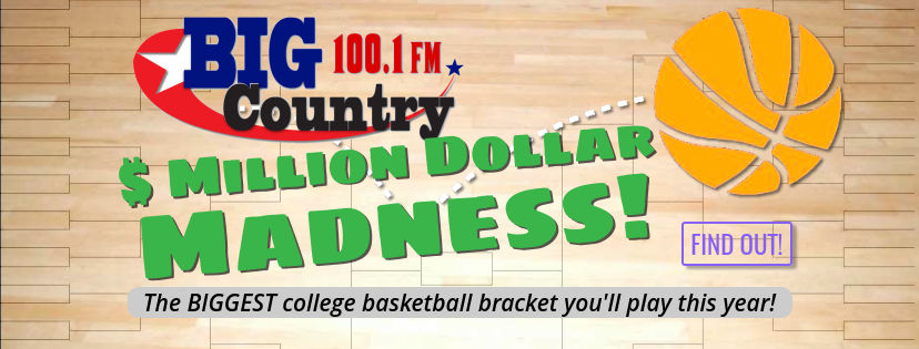 Million Dollar Madness is coming to Big Country 100.1