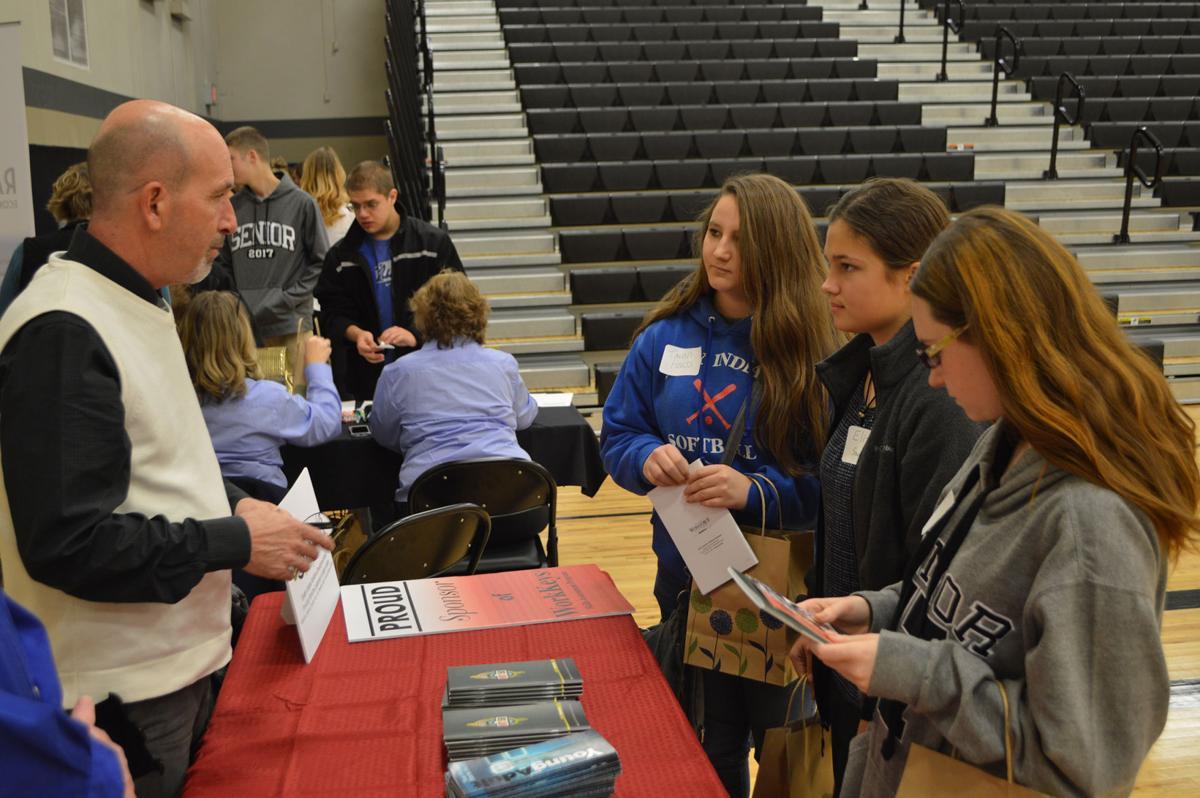 high school job fair introduces students to employers