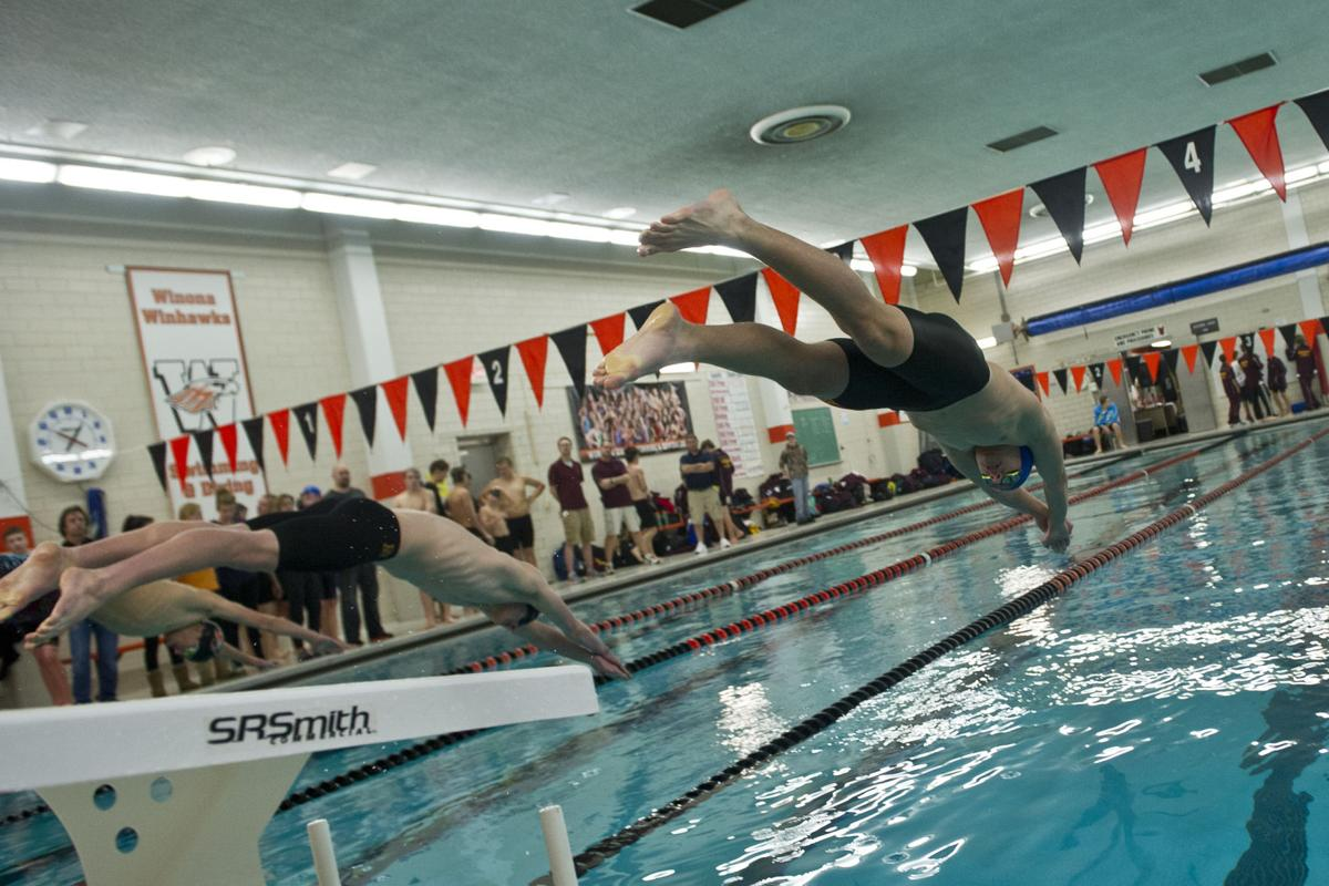 Prep Roundup Winhawks Start Fast Finish Strong In Beating Red Wing In Boys Swimming High