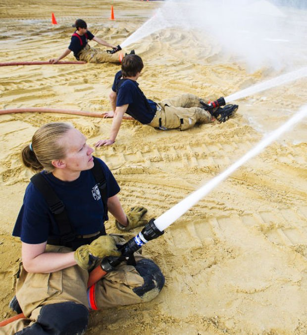 Collaborative Teaching Courses ~ Collaborative training aids volunteer fire departments