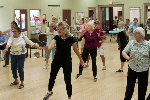 Moving and improving: Area seniors celebrate health and fitness day